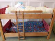 Puppenbett Stockbett