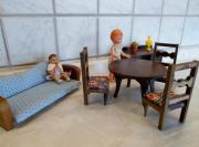 Puppenhaus Esszimmer aus