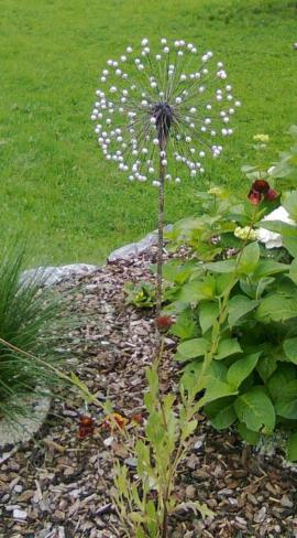 Pusteblume - Gartenobjekt