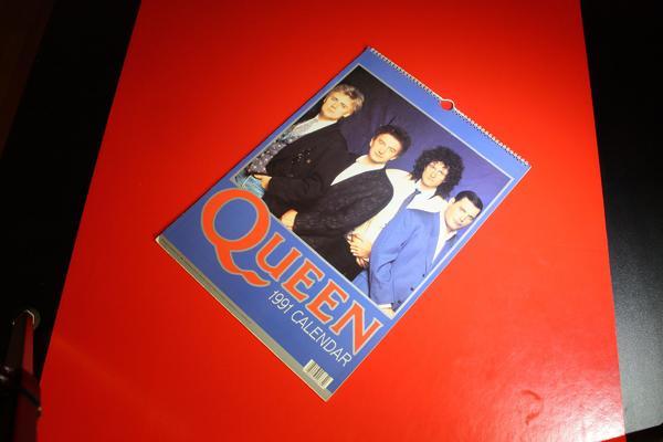 Queen Kalender 1991 - Weiterstadt - Queen Kalender in sehr gutem zustand siehe bilderVitrinensammlung - Weiterstadt