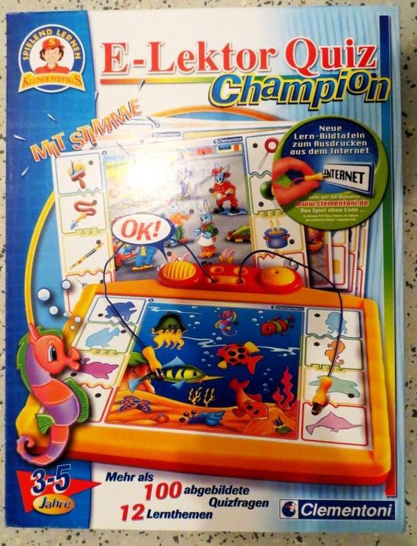 Quiz Champion Clementoni In Fürth Sonstiges Kinderspielzeug Kaufen