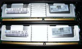 Mainboards, CPUs, Speicher - RAM Speicher 4x 1 GB