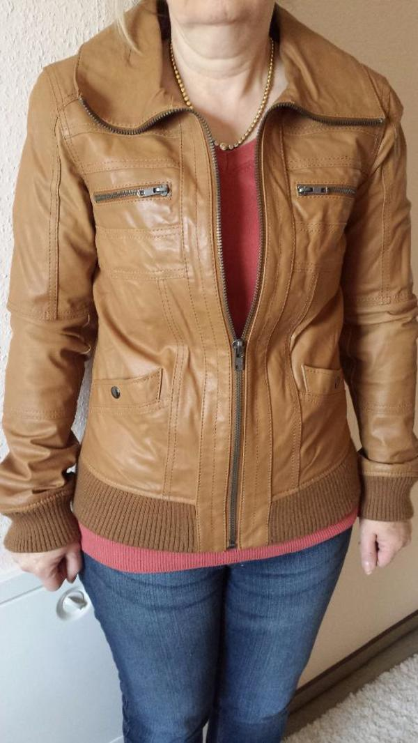 Rehbraune Lederjacke » Leder-/Pelzbekleidung, Damen und Herren