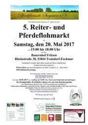 Reiterflohmarkt / Pferdeflohmarkt am