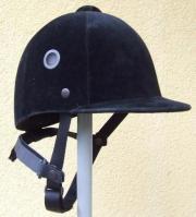 Reiterkappe, Helm, Gr.