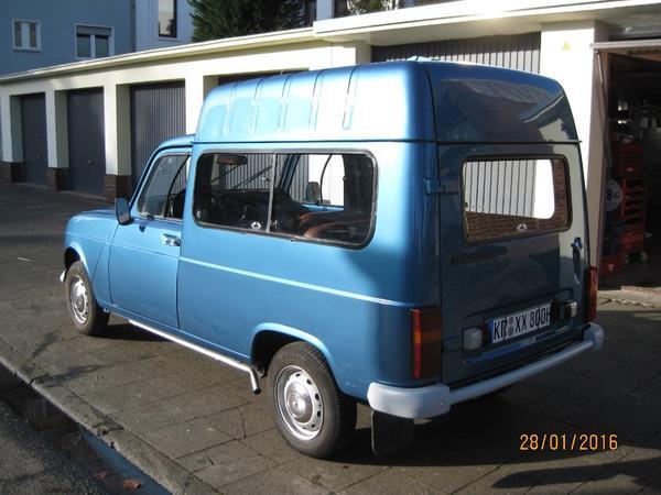 renault r4 f6 oldtimer kastenwagen in krefeld oldtimer youngtimer kaufen und verkaufen ber. Black Bedroom Furniture Sets. Home Design Ideas