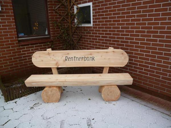 Renntnerholzbank Holzbank Gartenm 246 Bel Aus Holz