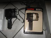 REVUE-1000-L-Filmleuchte-mit-Kameraschiene-in-neuwertigem-Zustand-in-OVP Rarität