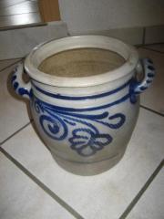 riesiger großer Schmalztopf Keramiktopf Topf