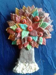 Salzteig Baum