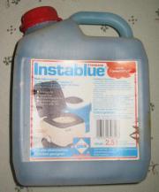 Sanitärfluid Instablue 2 5Liter Chemie-Toiletten