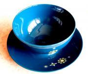 Sauciere Eschenbach Blue Glaze