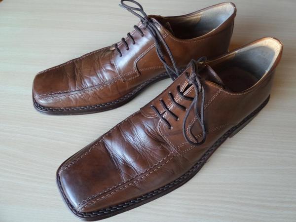 Schicke sportive Herren Schuhe Leder