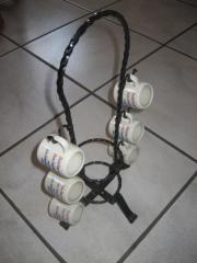 Schinkenhäger Schnaps-ständer Schnaps-gläser mit Ständer