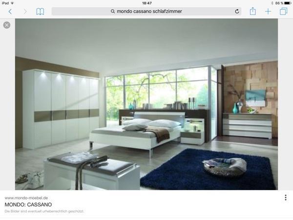 schlafzimmer mondo cassano in bregenz schr nke sonstige schlafzimmerm bel kaufen und. Black Bedroom Furniture Sets. Home Design Ideas