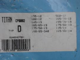 Schneeketten-Set 2 Stück TITAN CP0002: Kleinanzeigen aus Nürnberg Ziegelstein - Rubrik Schneeketten