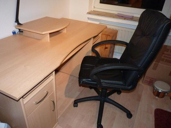 bequemer b rostuhl m belideen. Black Bedroom Furniture Sets. Home Design Ideas