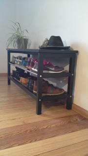 schuhregal hoch haushalt m bel gebraucht und neu kaufen. Black Bedroom Furniture Sets. Home Design Ideas