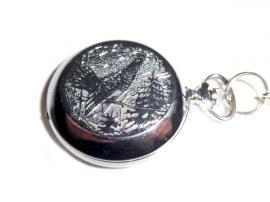 Uhren - Schwarze Taschenuhr von Molnija