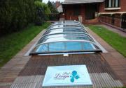 Schwimmbecken Abdeckung Überdachung