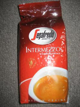 Kaffee-, Espressomaschinen - Segafredo Intermezzo Kaffeebohnen Bohnenkaffee Kaffee