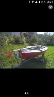 Segelboot -startklar-