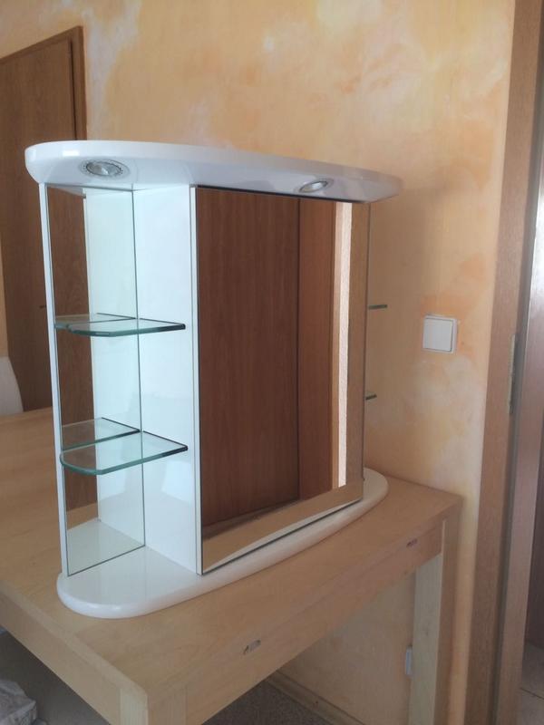 Spiegel lampe gebraucht kaufen nur 3 st bis 75 g nstiger for Garderobe quoka