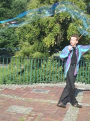 Seifenblasen Hannover auf Anruf Spontan