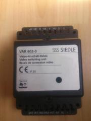 Siedle VAR 602-0 Video-Anschaltrelais
