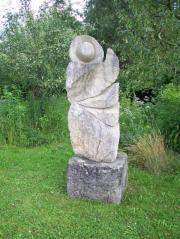 Skulpturenpark aus Marmor-Sandstein aus dem