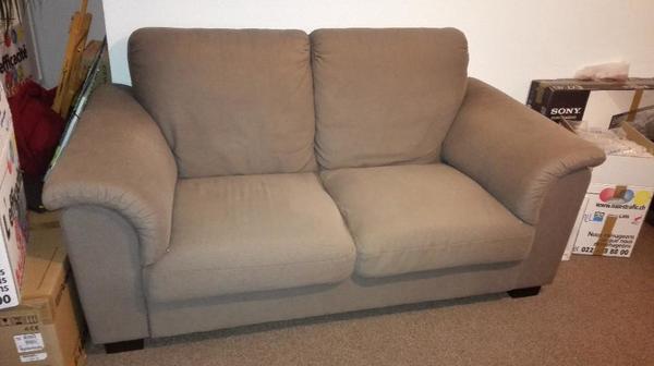 sofa ikea tidafors 2er sofa hensta hellbraun guter zustand in beilstein polster sessel. Black Bedroom Furniture Sets. Home Design Ideas