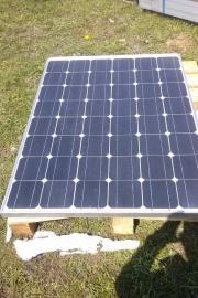 Solarmodul mit Wechselrichter