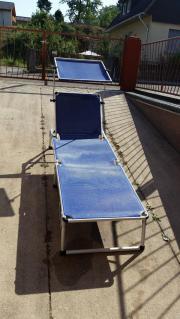 Sonnenliege mit Dach