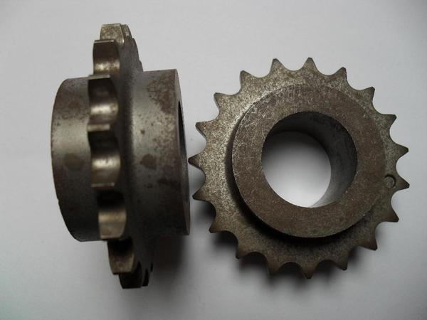 Stahl-Kettenräder mit beidseitiger Nabe