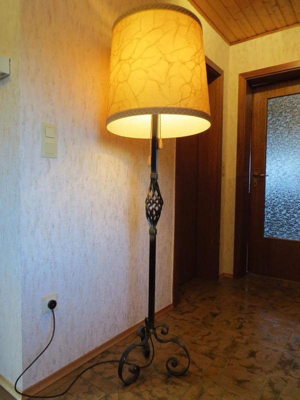 lampenschirm stehlampe neu und gebraucht kaufen bei. Black Bedroom Furniture Sets. Home Design Ideas