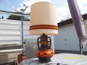 Stehlampe mit Keramikunterteil