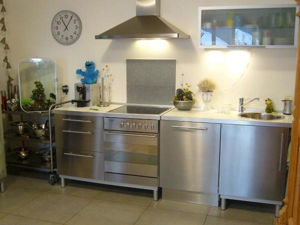 Awesome Edelstahl Küche Gebraucht Contemporary - Best Einrichtungs ...