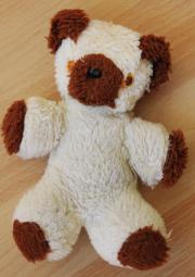 Teddy braun-beige