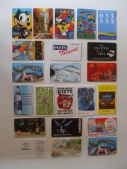 Telefonkarten - BUNTE MISCHUNG -