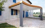 Terrassenüberdachung Alu Holz