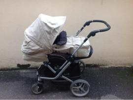 Kinderwagen - Teutonia Mistral Kinderwagen mit umfangreichem