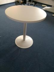 Tisch rund-weiß