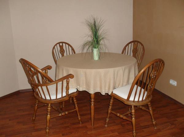 Tischgruppe Buche cognacfarben » Speisezimmer, Essecken