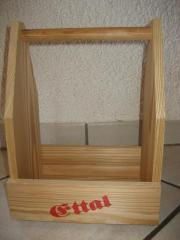 Tragekasten Spielzeugkasten Kiste aus Holz