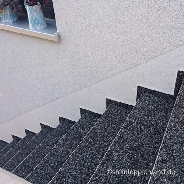 Steinteppich Treppe treppen mit steinteppich treppenrenovierung in baden baden
