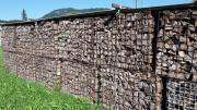 Trockenes Brennholz Buche