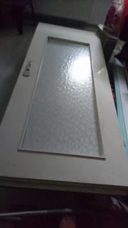 Türblatt mit Glas