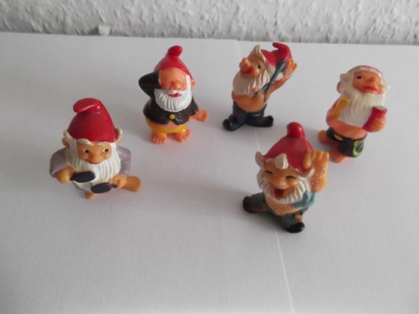 Ü - ei figuren - badezimmerzwerge, 1991, (greiz) - spielzeug, Badezimmer