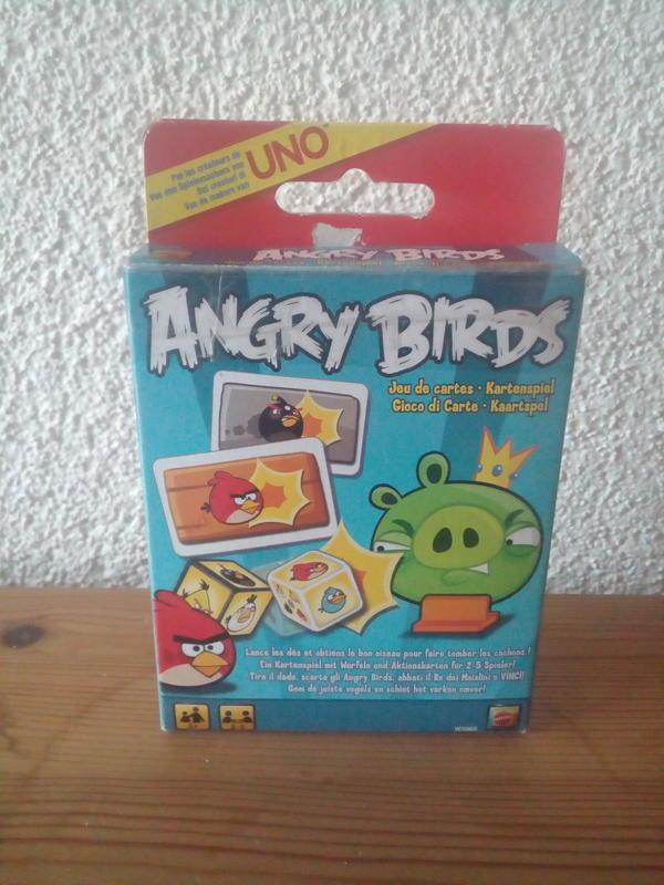UNO Angry Birds Spiel