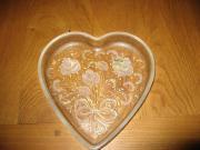 Valentinstag Herz- Glasschale